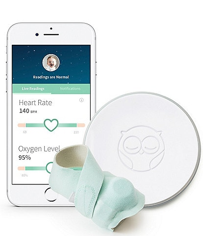 Owlet Baby Newborn-18 Months Smart Sock 2 Heart Rate and Oxygen Monitor