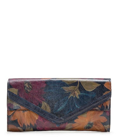Patricia Nash Peruvian Painting Collection Lipari Clutch