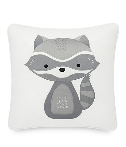 Pendleton Kid's Raccoon Square Pillow