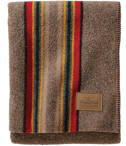 Pendleton Yakima Mineral Umber Camp Throw
