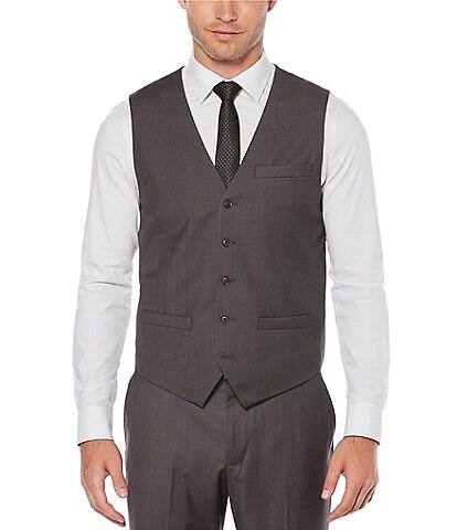 Perry Ellis Solid Suit Separates Vest