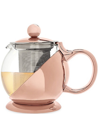 Pinky Up Shelby Rose Gold Wrapped Teapot & Infuser