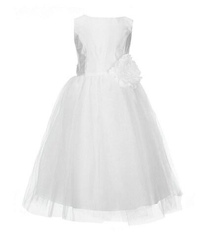 Pippa & Julie Little Girls 2T-6X Flower-Appliqued Ballerina Dress