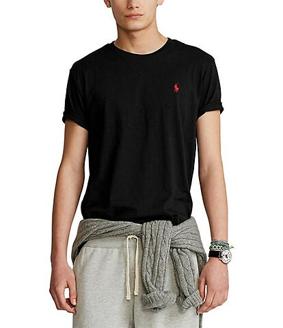 Polo Ralph Lauren Standard-Fit Short-Sleeve Crewneck Tee