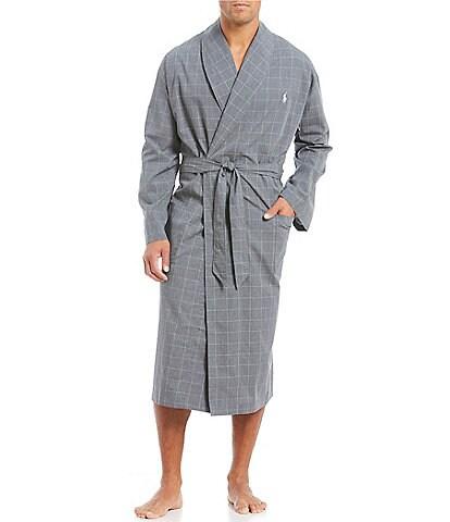 Polo Ralph Lauren Windowpane Robe