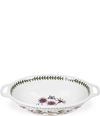 Portmeirion Botanic Garden Large Oval Handled Bowl