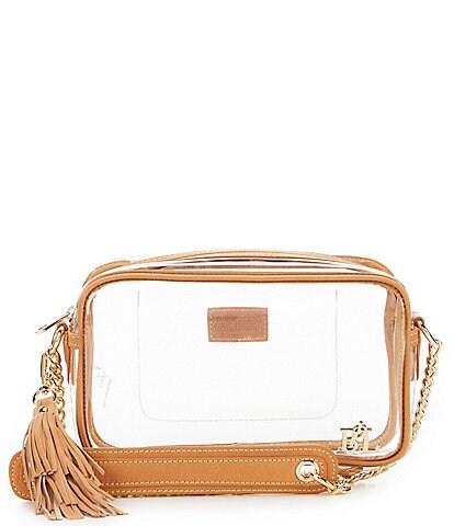Purseption Bren Clear Cross-Body Bag