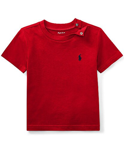 Ralph Lauren Childrenswear Baby Boys 3-24 Months Crew Neck Short-Sleeve Tee