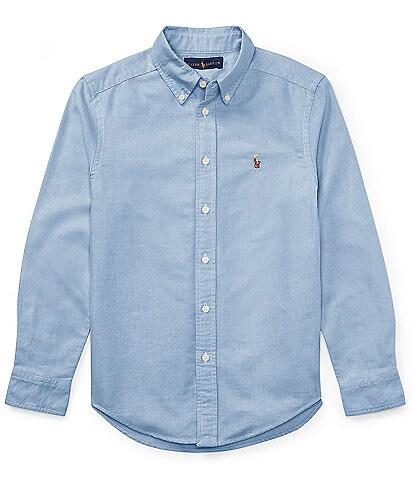 Ralph Lauren Childrenswear Big Boys 8-20 Long-Sleeve Oxford Shirt