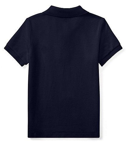 Ralph Lauren Childrenswear Little Boys 2T-7 Classic Mesh Polo Shirt