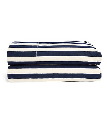 Ralph Lauren Durant Collection Cameron Stripe Percale Sheets