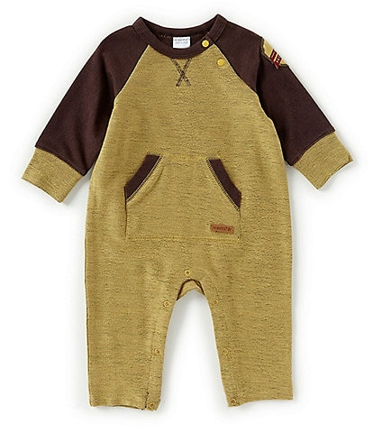 Robeez Baby Boys Newborn-9 Months Reversible Nature Coverall