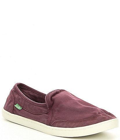 Sanuk Pair O Dice Canvas Slip-On Shoes