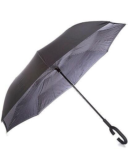 Shedrain UnbelievaBrella Fashion Print Reverse Stick Umbrella