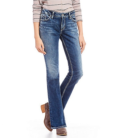 Silver Jeans Co. Elyse Curvy Fit Relaxed Straight Jeans