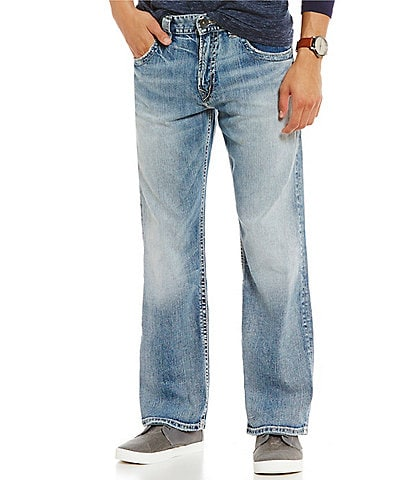 Silver Jeans Co. Gordie Loose Fit Light Wash Jeans