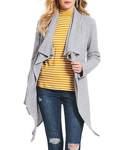 Soulmates Open-Front Cardigan