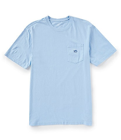 Southern Tide Embroidered Outline Skipjack Short-Sleeve Tee