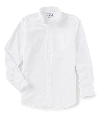 Southern Tide Sullivan Solid Long-Sleeve Woven Shirt
