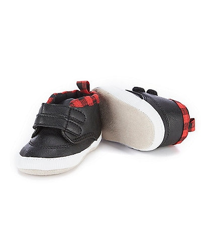 Starting Out Baby Boys 3-12 Months Slip-On High Top Sneaker Crib Shoes