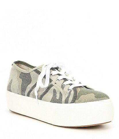 Steve Madden Emmi Canvas Platform Sneakers
