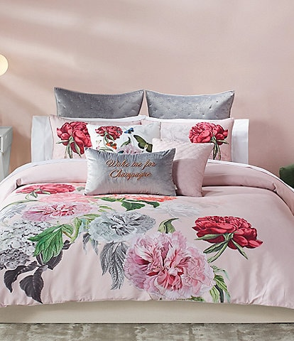 Ted Baker London Palace Garden Floral Sateen Comforter Mini Set