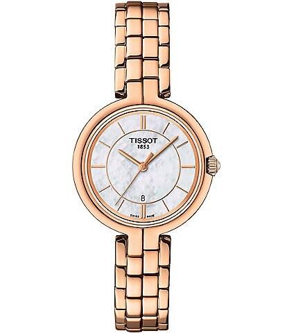 Tissot Flamingo Rose Gold Bracelet Watch