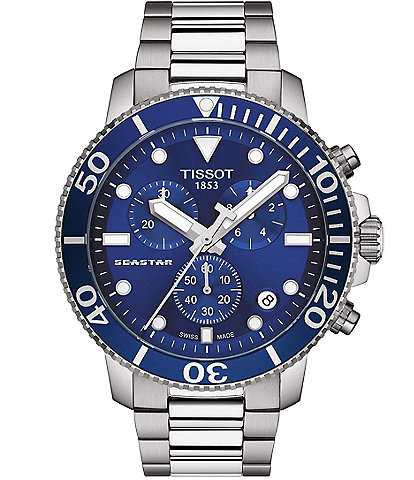 Tissot Seastar Chronograph Watch