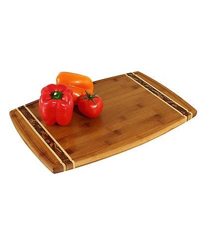 Totally Bamboo Marbleized Bamboo Cutting Board