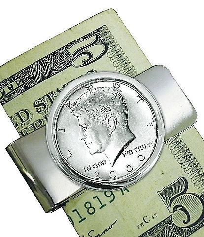 UPM United Precious Metals JFK Half Dollar Money Clip