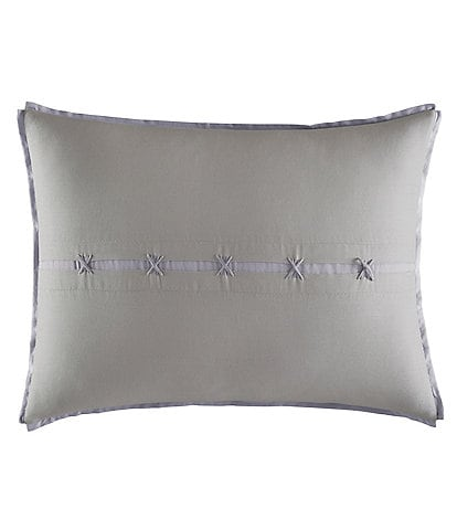 Vera Wang Transparent Leaves Center Slot Pillow