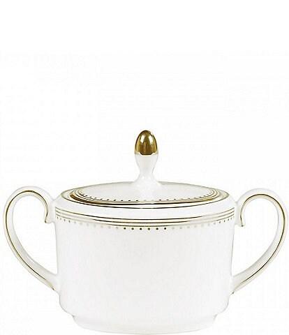 Vera Wang Wedgwood Grosgrain Covered Sugar Bowl