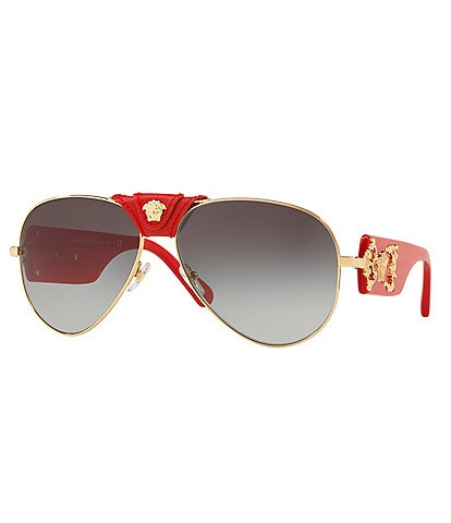 Versace Men's Rock Icon Barocco Sunglasses