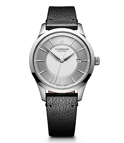 Victorinox Swiss Alliance Leather Strap Watch