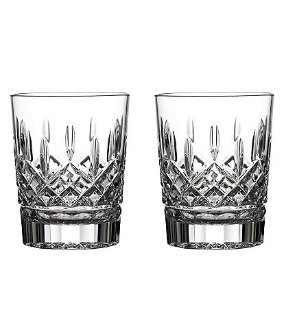 Waterford Crystal Lismore Double Old-Fashioned Glasses, Set of 2