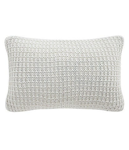 Waterford Florence Chunky Waffle Knit Breakfast Pillow