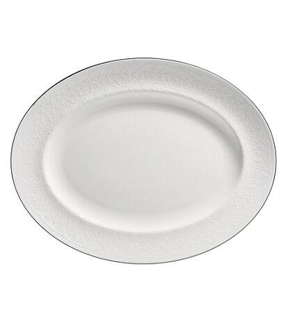 Wedgwood English Lace Bone China Oval Platter