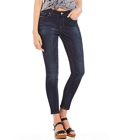 William Rast Dark Wash Ankle Skinny Jeans