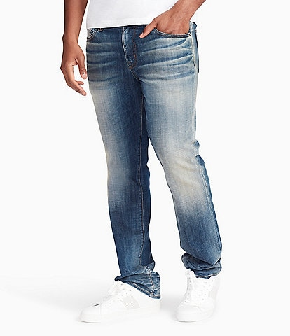 William Rast Hixson Palawan Straight Fit Stretch Jeans