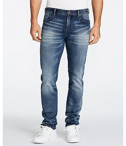 William Rast Hixson Straight-Fit Stretch Jeans