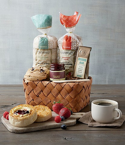 Wolferman's English Muffin Sampler Basket