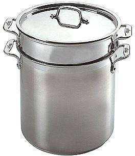 Image of All-Clad Stainless Steel 4-Piece Multicooker