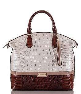 Image of Brahmin Durance Collection Large Duxbury Tasseled Satchel