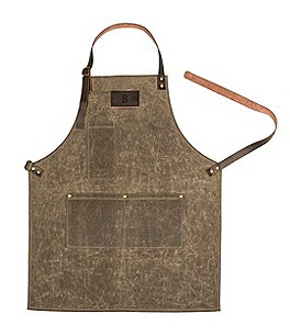 Image of Cathy's Concepts Initial Wet Waxed Canvas Apron