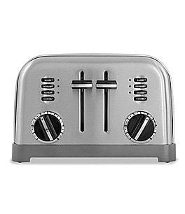 Image of Cuisinart 4-Slice Brushed Stainless Metal Classic Toaster