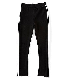 Image of GB Girls Big Girls 7-16 Active Racing Stripe Sweat Pants