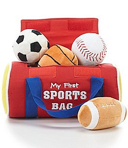 Image of Gund My First Sports Bag Five-Piece Playset