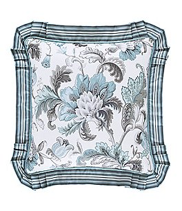 Image of J. Queen New York Atrium Floral Square Pillow