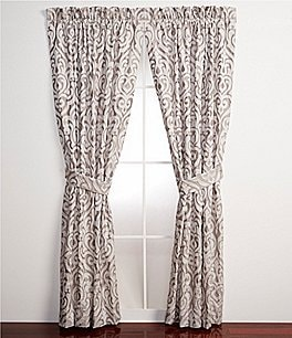 Image of J. Queen New York Babylon Damask Window Treatments
