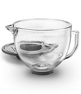 Image of KitchenAid 5-Quart Glass Bowl Tilt-Head Stand Mixer Attachment